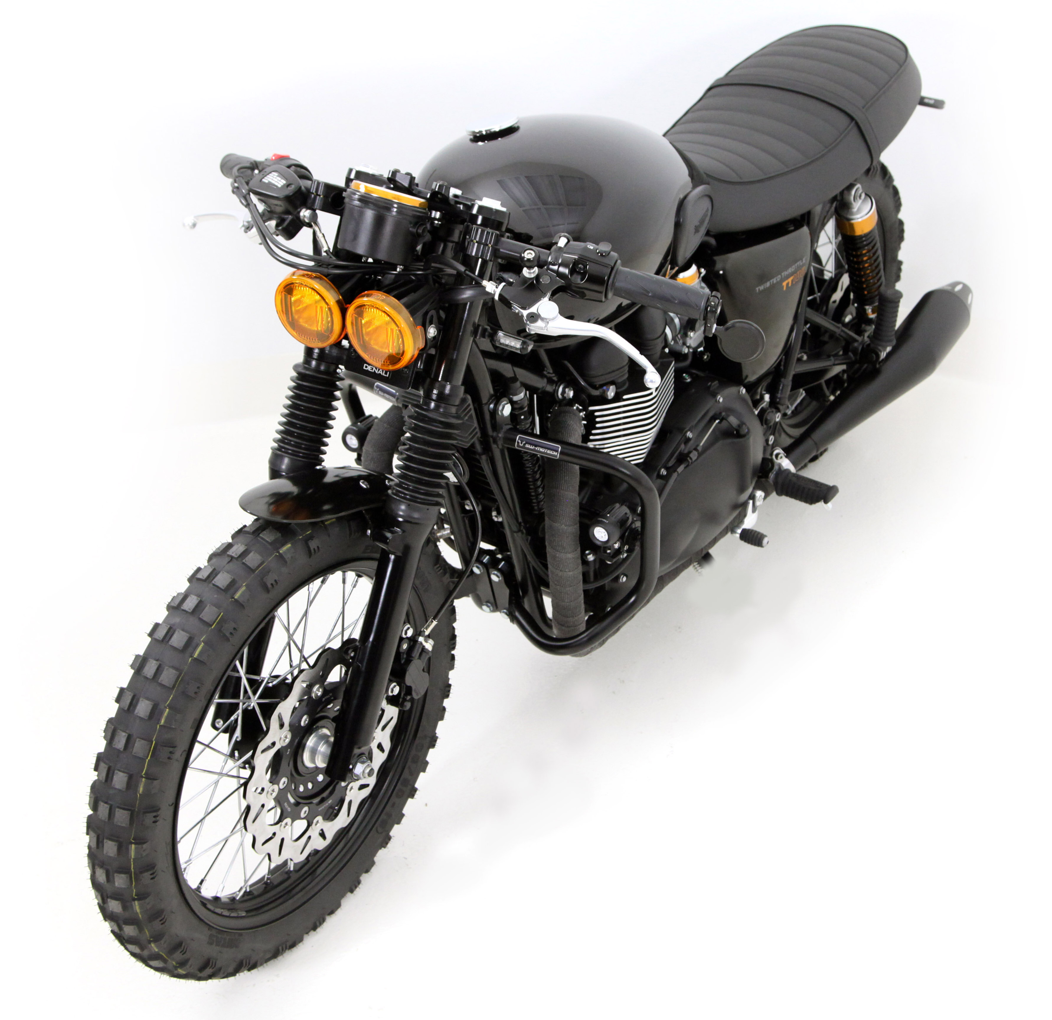 Twisted Throttle Triumph T100 Project Bike