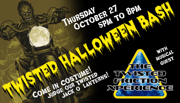 Twisted Throttle Halloween Bash